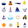 Nautical icon — Stock Vector #8311082