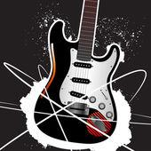 吉他设计 — 图库矢量图片