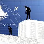 Obchodní koncepce designu — Stock vektor
