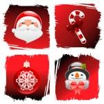 Christmas design elements — Stock Vector