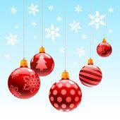 Christmas ornament ball — Stock Vector