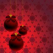 クリスマスの背景. — ストックベクタ