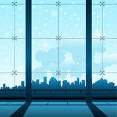Building interior — Stock Vector