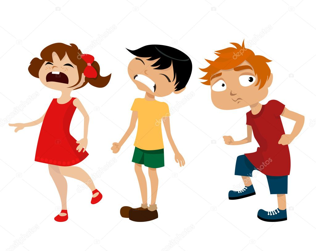 Cartoon kids set — Stock Vector #8999363