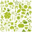 Nature icons — Stock Vector #9074989