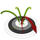 Reducing bounce rate — Stock Photo