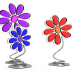 Decorative flowers — Stock Photo #10472007
