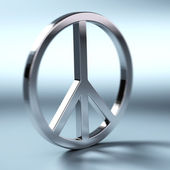 Peace and love symbol — Stock Photo