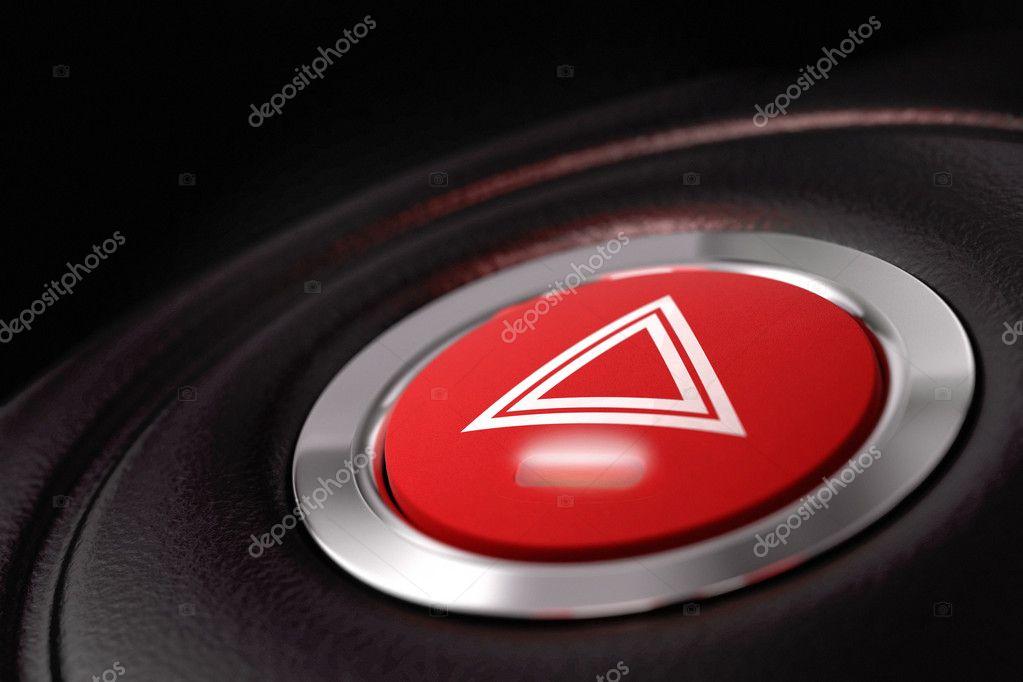 Bouton de panique pouss l 39 int rieur d 39 une voiture for Interieur d une voiture