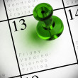 Friday 13th - chance background — Stock Photo #7986828