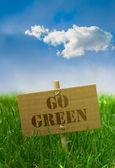 Go green — Zdjęcie stockowe