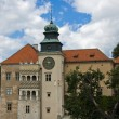 Stock Photo: Romantic castle, Pieskowa Skala palace