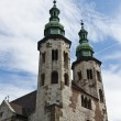 Romanesque church, Cracow Poland — Stockfoto #8011834