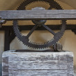 Stock Photo: Medieval wells mechanism