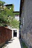 Vicolo vecchio cortile — Foto Stock