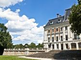 Romantic palace, Pszczyna Poland — Stock Photo