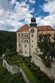 Romantic castle, renaissance palace, Pieskowa Skala — Stock Photo
