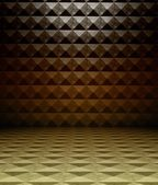 3d metal square tiles — Stock Photo
