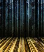 Mur de rayures grunge 3d — Photo