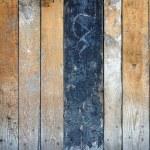Dark wood scratched texture — Stock Photo