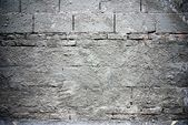Brick blocks with cement texture — Stock Photo