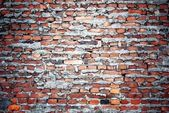 Bricks wall with cement texture — 图库照片
