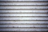 Dirty metal shutters texture — Stock Photo