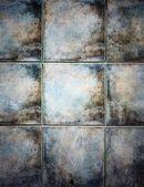Textura de telhas cerâmicas do grunge — Foto Stock