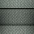 Clean metal template background — Stock Photo
