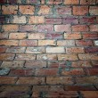Stock Photo: Brick wall texture, empty interior