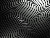 3d wavy aluminium background abstract silver pattern — Stock Photo