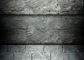 Concrete and brick template background — Zdjęcie stockowe