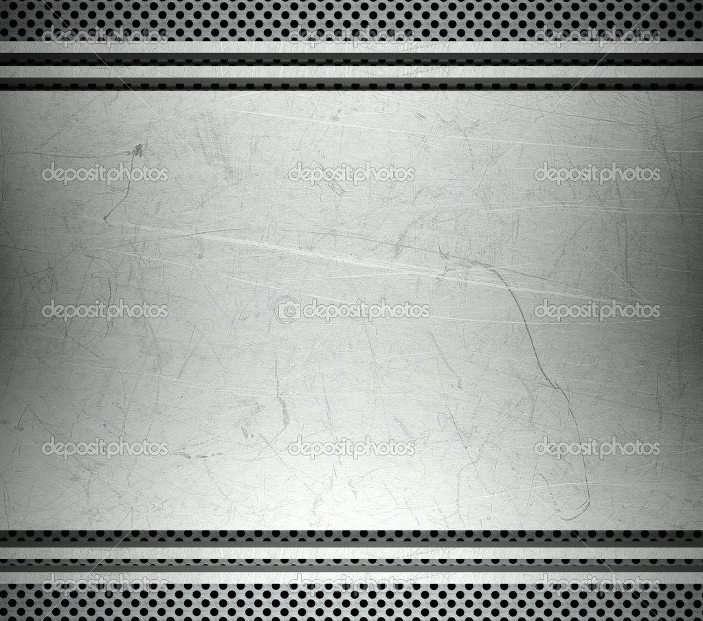 steel template with copy space metal background  u2014 stock