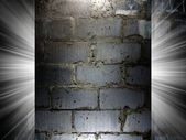 Brick and Concrete texture 3d presentation — Foto Stock
