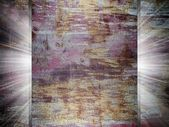Rusty metal texture 3d presentation — Stock Photo