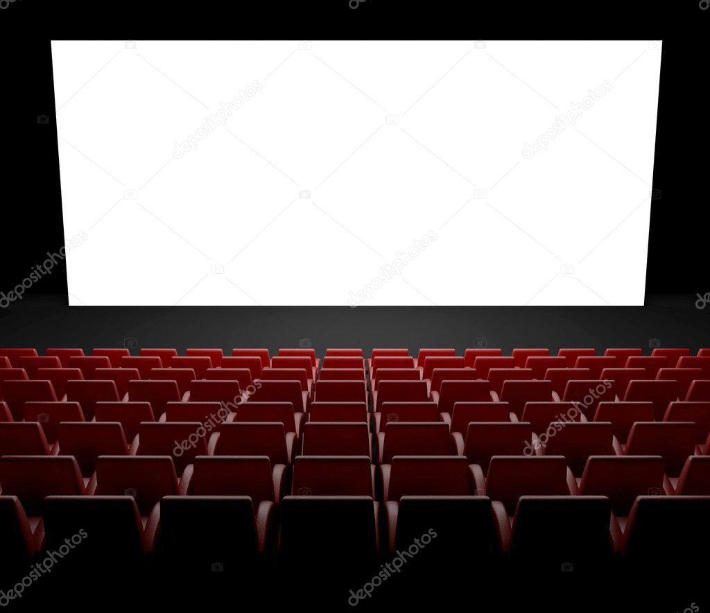 cran de cin ma vide avec auditorium photographie leszekglasner 9546886. Black Bedroom Furniture Sets. Home Design Ideas