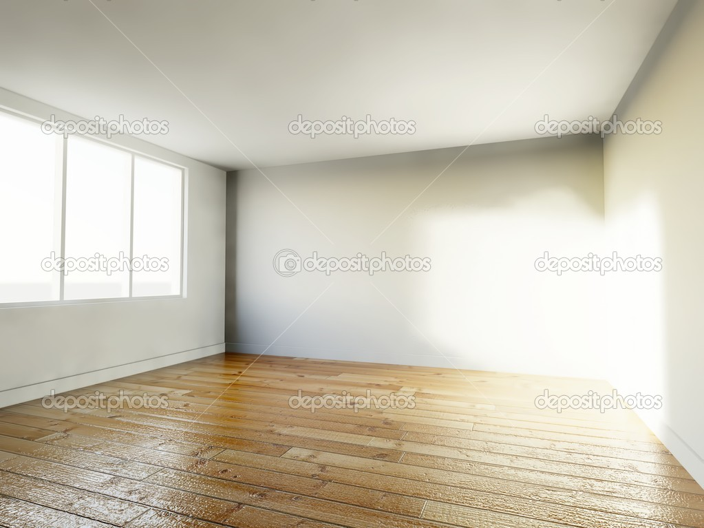 Empty room, 3d home interior — Stock Photo #9827314