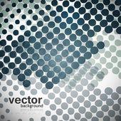 Halftone background vector illustration — Stock Vector