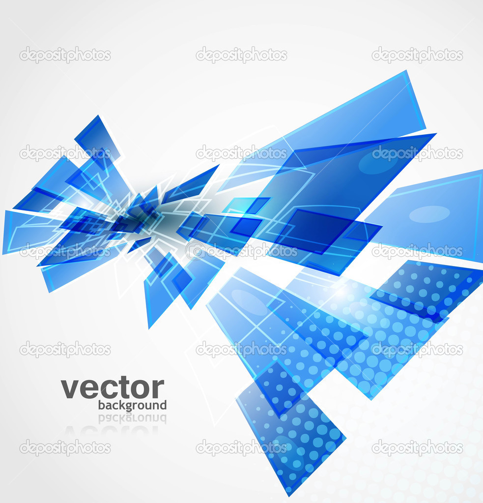 Abstract New Technology Background Vector — Stock Vector ...