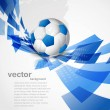 Abstract football art color colorful circle creative Vector — Stock Vector #10163662