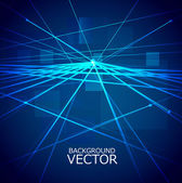 Design of Vector blue colorful Circuit Board — Cтоковый вектор