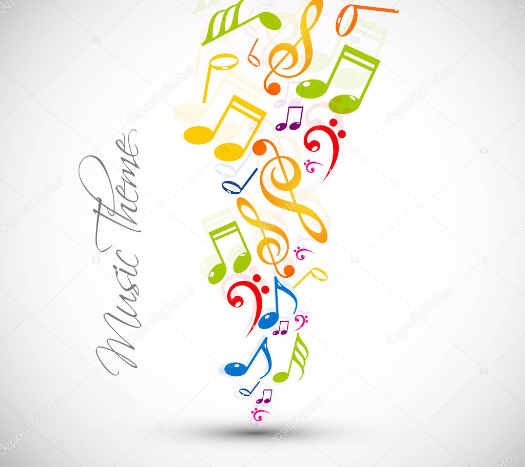 Colorful Musical Notes Pictures Colorful Music Notes Fantastic