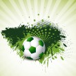 Soccer design background vector grunge - Stock Vector