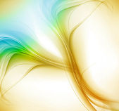 Abstract new shiny Vector colorful wave — Stock Vector