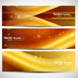 Abstract colorful banners set — Stock Vector #9650386