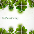 Stock Vector: Beautiful saint patricks day vector illustration