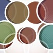 Abstract colorful circle — Stock Vector