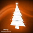 New christmas tree Vector colorful background — Stock Vector