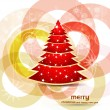 Royalty-Free Stock Vector Image: Beautiful bright colorful christmas