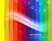 Abstract new rainbow designed — Stock Vector